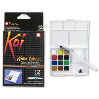 Sakura Koi Water Color Pocket Field Sketch Kit 12