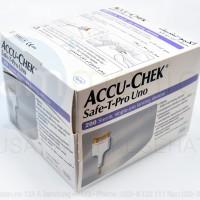 Safe T Pro Uno / Alat Lancet + Jarum Lancet Sekali pakai
