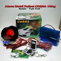 New...!!!Alarm Mobil Fullset Merk Cobra