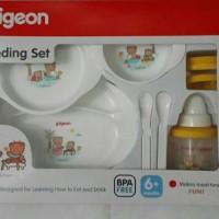 Pigeon Feeding Set Baby Gift - Paket Kado Tempat Makan Minum Bayi