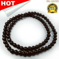Kalung Black Jade Batu Hitam Asli Batu Alam 100% isi 80 butir