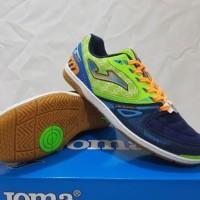 Sepatu Futsal Joma Salamax Navy Green SMAXW.603.IN original