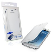 harga SAMSUNG Flip Cover Galaxy S3 Original -White Tokopedia.com