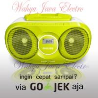 PHILIPS AZ215 Audio Player CD / FM RADIO Speaker - Kuning