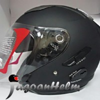 harga KYT Helm Galaxy Slide Black Doff Hitam DOP Tokopedia.com