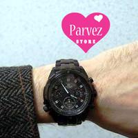 Jam tangan pria casio edifice EF 535BK 1AV garansi promo sekarang juga