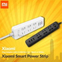 Jual Xiaomi Smart Power Strip Plug Adapter with 3 USB Port 2A Murah