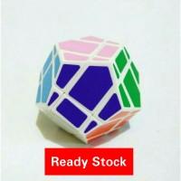 Rubik QJ Skewb Megaminx White Base