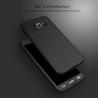 Jual Casing Hp Cover Samsung Note 3 4 5 360 Case Free Tempered Glass Murah