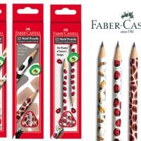 ATK0114FC Motif Pensil 2B NonToxic Aman ORIGINAL Faber Castell Penci