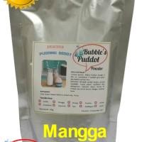 MANGGA Bubble's Puddot Premix Puding Sedot,Bubuk Powder Puddot 445gr