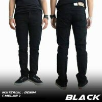 CELANA JEANS CHEAP MONDAY SKINNY FIT / PENSIL BLACK