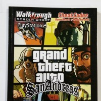 buku grand theft auto san andreas untuk ps2 / gta san andreas
