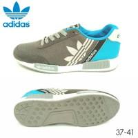 harga Sepatu Adidas NMD Runner Abu Biru Women Tokopedia.com