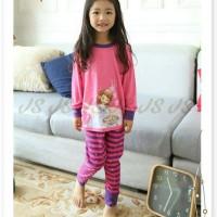 pakaian anak perempuan / baju setelan kaos piyama sophia the first