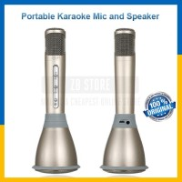 mic smule .portable karaoke mic and speaker.