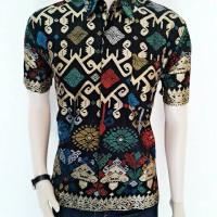 Jual kemeja batik halus songket prada | BATIK Songket ANDIKA PRATAMA Murah