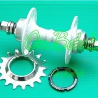 harga Hub Alloy 32h (ball) Formula Rear-flip Flop+cassette Cog 17t+lock Ring Tokopedia.com