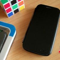 Flipcover HOCAR Slim Leather Stand Dompet Flip Case Casing Lenovo 706