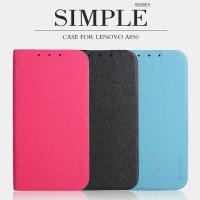 Flipcover BOGVED Soft Leather Dompet Book Flip Case Casing Lenovo A850