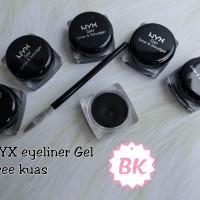 NYX Eyeliner Gel - Eye Liner Bonus Kuas