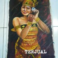 harga Lukisan Penari Bali Tokopedia.com