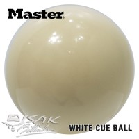 "White Cue Ball 2.1/4"" - MIT - Bola Putih Biliar Billiard Bilyar"
