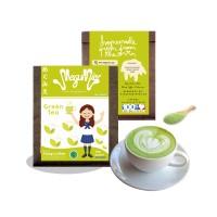 MEGUMIE Green Tea Latte Matcha Powder Bubuk Minuman Teh Hijau Serbuk