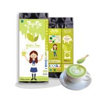 Jual 500gr MEGUMIE Green Tea Latte Matcha Powder Bubuk Minuman Teh Hijau Murah