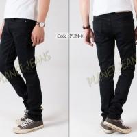 Jual Celana jeans panjang pria skinny / pensil cowok bahan stretch / karet Murah