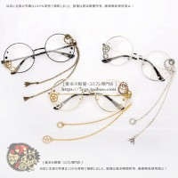 Kacamata Round Glasses Vintage import cosplay stuff Korea ulzzang