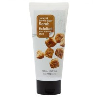 The Face Shop Honey Black Sugar Scrub 120ml