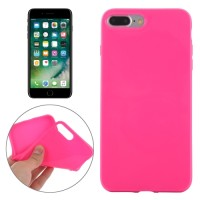 SMOOTH SURFACE SOLID TPU CASE IPHONE 7 PLUS MAGENTA