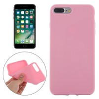 SMOOTH SURFACE SOLID TPU CASE IPHONE 7 PLUS PINK