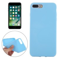 SMOOTH SURFACE SOLID TPU CASE IPHONE 7 PLUS BABY BLUE