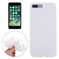 SMOOTH SURFACE SOLID TPU CASE IPHONE 7 PLUS WHITE
