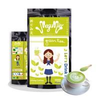 Jual 1000gr MEGUMIE Green Tea Latte Matcha Powder Bubuk Minuman Teh Hijau Murah