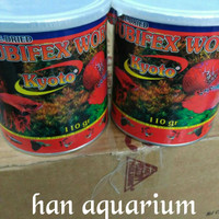 tubifex worms 110gr cacing kering