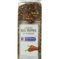 McCormick Crushed Red Pepper Flakes Bumbu Bubuk Cabe Kasar USA