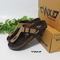harga Sandal Pria/Cowok Model Birkenstock/Carvil Original CVNXID Coklat Muda Tokopedia.com