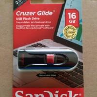 Flashdisk Sandisk Cz60 Cruzer Glide 16 Gb - Garansi Resmi