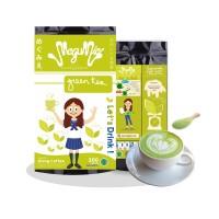 Jual 200gr Megumie Green Tea Latte Matcha Powder Bubuk Minuman Teh Hijau Murah