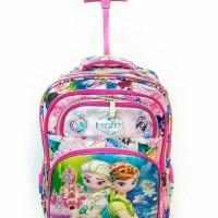 harga Tas Trolley Troli Dorong Sekolah Anak 6D SD Timbul Frozen 5 Ruang Tokopedia.com