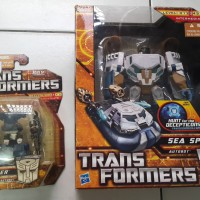 Transformers Sea Spray + Breacher ROTF HFTD set original Hasbro