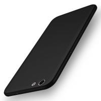 OPPO F1s Baby Skin Full Cover Ultra Thin Hard Case Black 117503