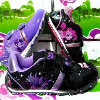 sepatu anak little pony,pink/ungu (size 26-35)