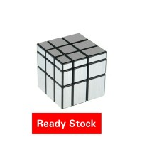Rubik Mirror 3x3 Silver YongJun Magic Cube 3x3x3