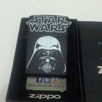 ZIPPO STAR WARS !!Premium sport elegant mewah best seller limited