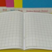 Buku Kotak Besar / Buku Tulis Mandarin 38 Lembar Merk K