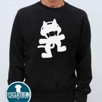 Sweater Monstercat - Hitam - 313 Clothing